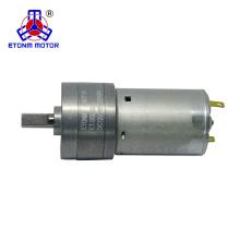 24 В постоянного тока высокий крутящий момент низких оборотах мотор с коробкой передач 32мм