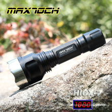 Maxtoch HI6X-7 Stainless Steel Attack Head LED Flashlight 18650