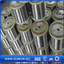 Fil d'acier inoxydable de fabrication chinoise