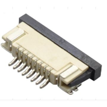 FPC-connector 0.8 mm bovenste contact SMT 8-pins