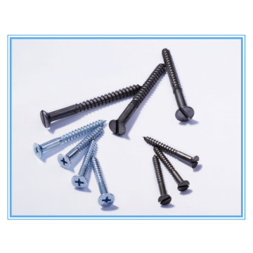 Cross/ Phillip Flat Head Wood Screw (DIN7997)