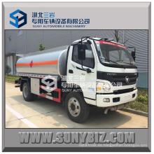 China Isuzu Foton Aumark 4X2 6t camión de combustible con dispensador de combustible