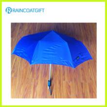 Paraguas plegable de aluminio ligero de la publicidad / paraguas de bolsillo