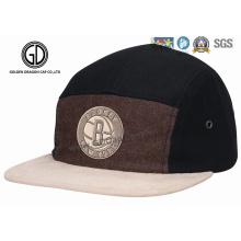 2016 Top Qualidade Ny Wool Snapback Campper Cap com Bordado