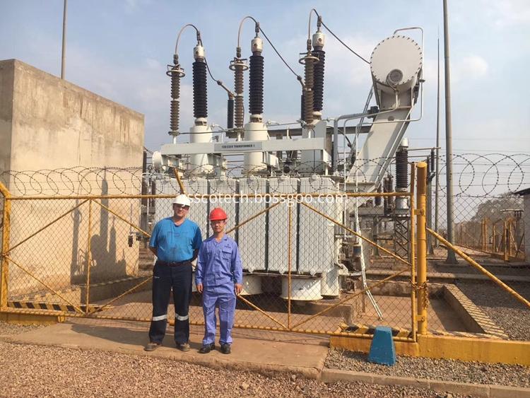 120kv oil immersed power transformer