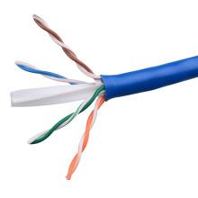 UTP CAT6 LSZH Kabel Fluke getestet Soild Bare Kupfer blau