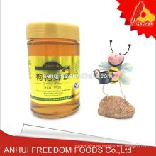 Suministre miel pura china de Lycium wolfberry en botella de 950g