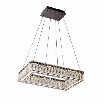 K9 Kristal Rectangle candelier chandelier adat