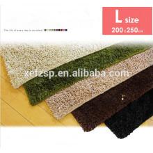 sheep skin 100% polyester microfiber big rugs