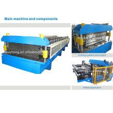 Grosses soldes! YTSING-YD-000202 Rouleau double couche formant la machine / faisant la machine pour IBR et les profils ondulés