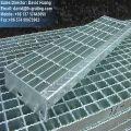 Verzinkt beschichtete Treppen durch Stahlvergitterung