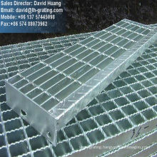 Galvanized Steel Structure Grating Staircases for Step Ladders