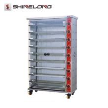 K763 3/6/9 capa de pollo asador de pollo restaurante horno de asador de pollo infrarrojo