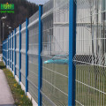 PVC Bersalut Welded Wire Mesh Panel Pagar
