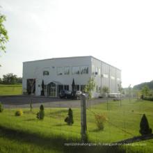 Entrepôt de bureau préfabriqué en structure métallique (KXD-SSB1403)