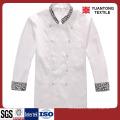 Branco Tecido de algodão poliéster / algodão