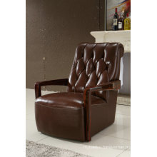 America Style Chair, Leather Chair, Living Room Furniture (950)