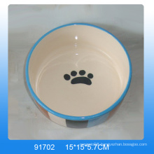 Lovely ceramic pet dish