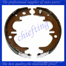 GS8714 4654020070 46590-33020 46550-33020 46590-20010 46590-20020 46590-20040 brake shoe for toyota avensis camry celica scepter