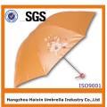 Высокое качество красоты дешевый 3 складной зонтик для подарков Промотирования