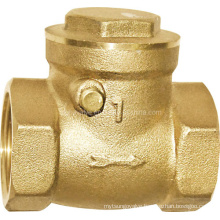 Brass Horizontal Swing Valve for Water (a. 0193)