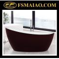 Красный И Белый Специальная Конструкция Акриловые Ванны Freestanding Ванна (9012)