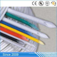 2.5kv Fiber Glass Silicone Coated Protective Braided Fiberglass Sleeving