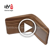 The tactical wholesale travel document holder fashion leather wallets