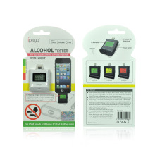 Colorful LED Breath Alcohol Tester for iPhone 5 & iPad Mini, Drive Safety