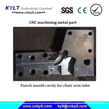 Punch Mold Cavity pour tube de bras de chaise