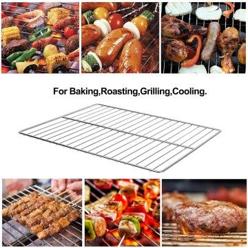 Grille de grilles de barbecue en acier inoxydable