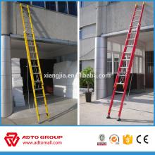 Escalera plegable de la salida de incendios, escalera de aluminio de la fibra de vidrio, precio de la escalera de aluminio