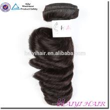 Compras on-line de longa duração cabelo macio Weave não transformados Virgin peruano cabelo Dubai
