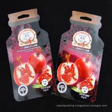 Aluminum Foil Plastic Packaging Cosmetic Fruit Mask Bag (MB-011)