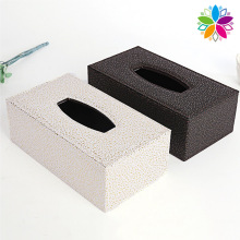 High-End Rechteck PU Tissue Box (ZJH060)