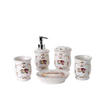 cheap good quality ceramic bathroom set luxury