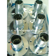 Zinc Plated Spline Housing with CNC Machining