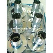 Caixa de ranhuras galvanizada com usinagem CNC