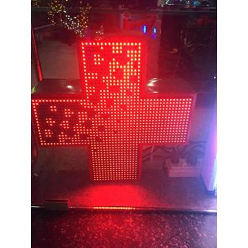 Display a LED P10 a croce rossa singola
