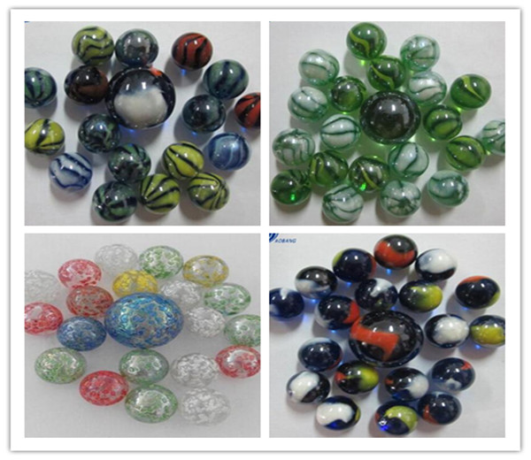 Cheap glass marbles AB RLV