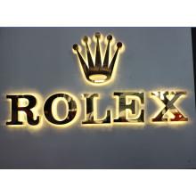 LED letras de metal para signos