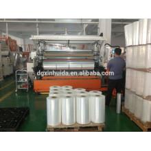 XHD 2350mm LLDPE manual y máquina grado estrías películas que hacen la máquina