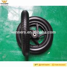 Rodas plásticas do plutônio de 12 polegadas, pneu da espuma