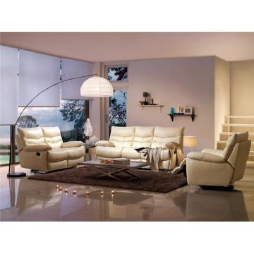Electric Recliner Sofa USA L&P Mechanism Sofa Down Sofa (703#)