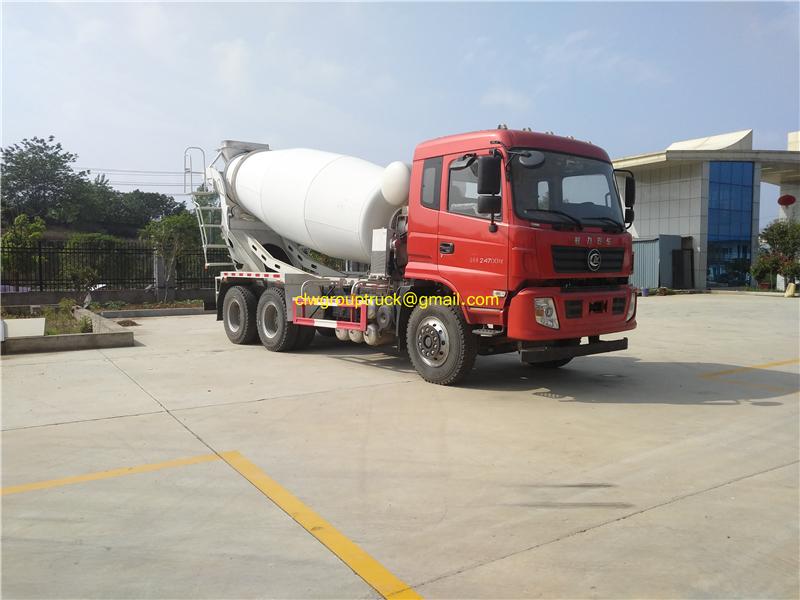 Cement Mixer Truck 4