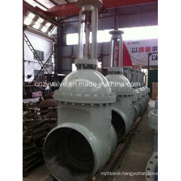 Water Pipeline Dn800 Pn10 Welded Gate Valve (Z11H-DN800-PN16)