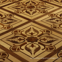 Drawing room floor wood tiles
