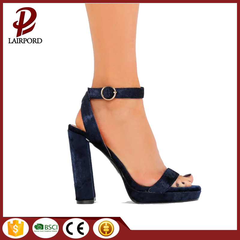 PU strap summer simple lady sandals