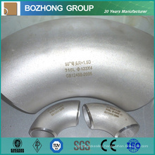 304 316L Stainless Steel Elbow with 90 Degree