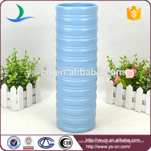 YSv0135-01 blue tall ceramic vase